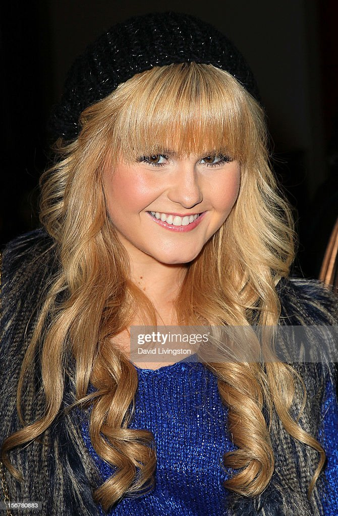 TV personality Ashlee Keating attends Associated Television International's 2012 Hollywood Christmas Parade Concert at Universal CityWalk's 5 Towers on November 20, 2012 in Universal City, California.