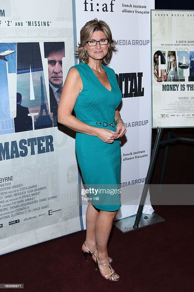TV personality Ashleigh Banfield attends the 'Capital' screening at FIAF on October 7, 2013 in New York City.