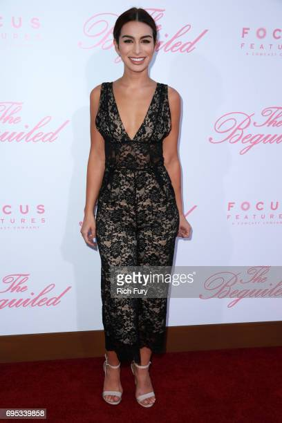 TV personality Ashley Iaconetti attends the premiere of Focus Features' 'The Beguiled' at the Directors Guild of America on June 12 2017 in Los...