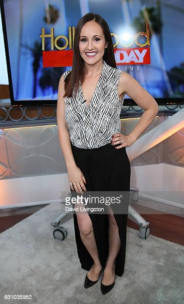 TV personality Ashley Rosenbaum visits Hollywood Today Live at W Hollywood on January 5 2017 in Hollywood California