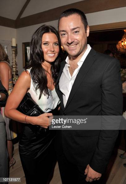 TV Personality Audrina Patridge and James Patrick Herman attend the Desiree Gruber and Glamour's Cindi Leive Toast to Glamour's new Senior West Coast...