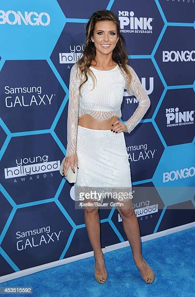TV personality Audrina Patridge arrives at the 16th Annual Young Hollywood Awards at The Wiltern on July 27 2014 in Los Angeles California