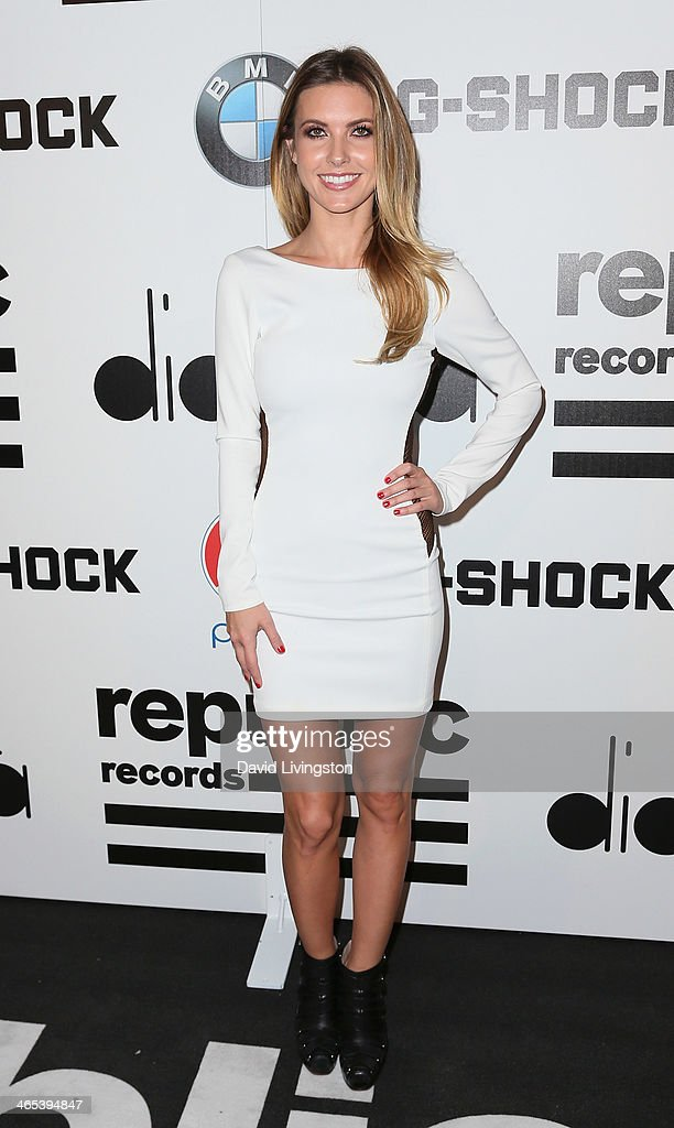 TV personality <a gi-track='captionPersonalityLinkClicked' href=/galleries/search?phrase=Audrina+Patridge&family=editorial&specificpeople=2584350 ng-click='$event.stopPropagation()'>Audrina Patridge</a> attends Republic Records Post Grammy Party at 1 OAK on January 26, 2014 in West Hollywood, California.