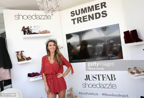 TV personality Audrina Patridge attends SIMPLY Los Angeles Fashion Beauty Conference Powered By NYLON at The Grove on July 15 2017 in Los Angeles...