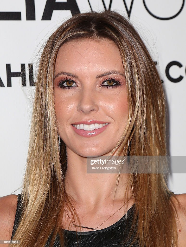 TV personality <a gi-track='captionPersonalityLinkClicked' href=/galleries/search?phrase=Audrina+Patridge&family=editorial&specificpeople=2584350 ng-click='$event.stopPropagation()'>Audrina Patridge</a> attends the Dahlia Wolf Launch Party at the Graffiti Cafe on October 22, 2013 in Los Angeles, California.