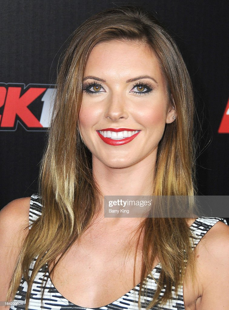 TV personality <a gi-track='captionPersonalityLinkClicked' href=/galleries/search?phrase=Audrina+Patridge&family=editorial&specificpeople=2584350 ng-click='$event.stopPropagation()'>Audrina Patridge</a> attends the NBA 2K14 premiere party on September 24, 2013 at Greystone Manor Supperclub in West Hollywood, California.