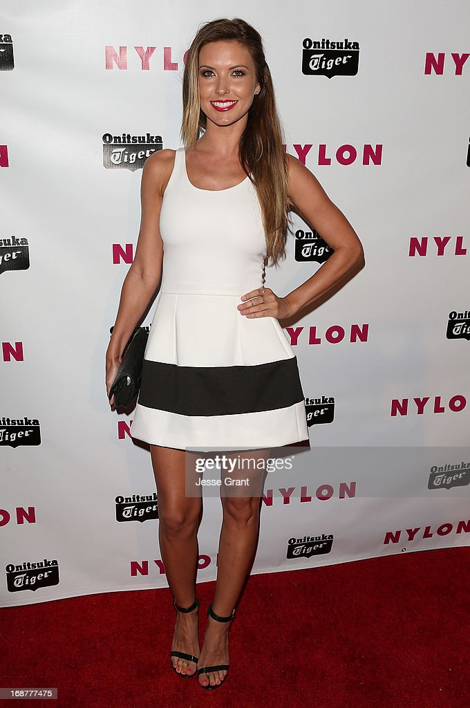 TV personality Audrina Patridge attends the NYLON Magazine Annual May Young Hollywood Issue Party at The Roosevelt Hotel on May 14, 2013 in Hollywood, California.