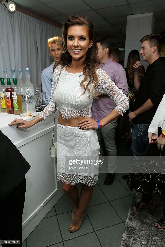 TV personality <a gi-track='captionPersonalityLinkClicked' href=/galleries/search?phrase=Audrina+Patridge&family=editorial&specificpeople=2584350 ng-click='$event.stopPropagation()'>Audrina Patridge</a> in the green room at the 2014 Young Hollywood Awards brought to you by Samsung Galaxy at The Wiltern on July 27, 2014 in Los Angeles, California. The Young Hollywood Awards will air on Monday, July 28 8/7c on The CW.