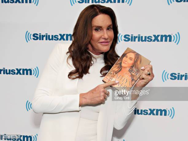TV personality/ author Caitlyn Jenner visits the SiriusXM Studios on April 26 2017 in New York City