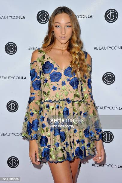 TV personality Ava Cota attends the 5th Annual Beautycon Festival Los Angeles at Los Angeles Convention Center on August 13 2017 in Los Angeles...