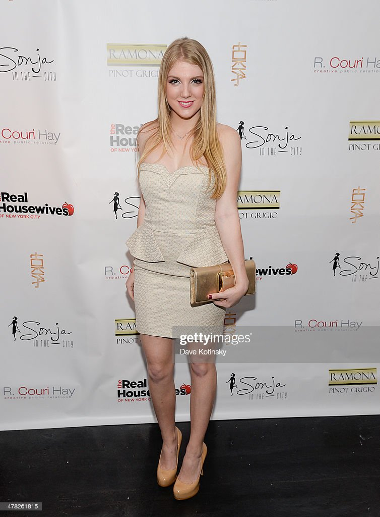 TV personality Avery Singer attends the 'The Real Housewives Of New York City' season six premiere party at Tokya on March 12, 2014 in New York City.