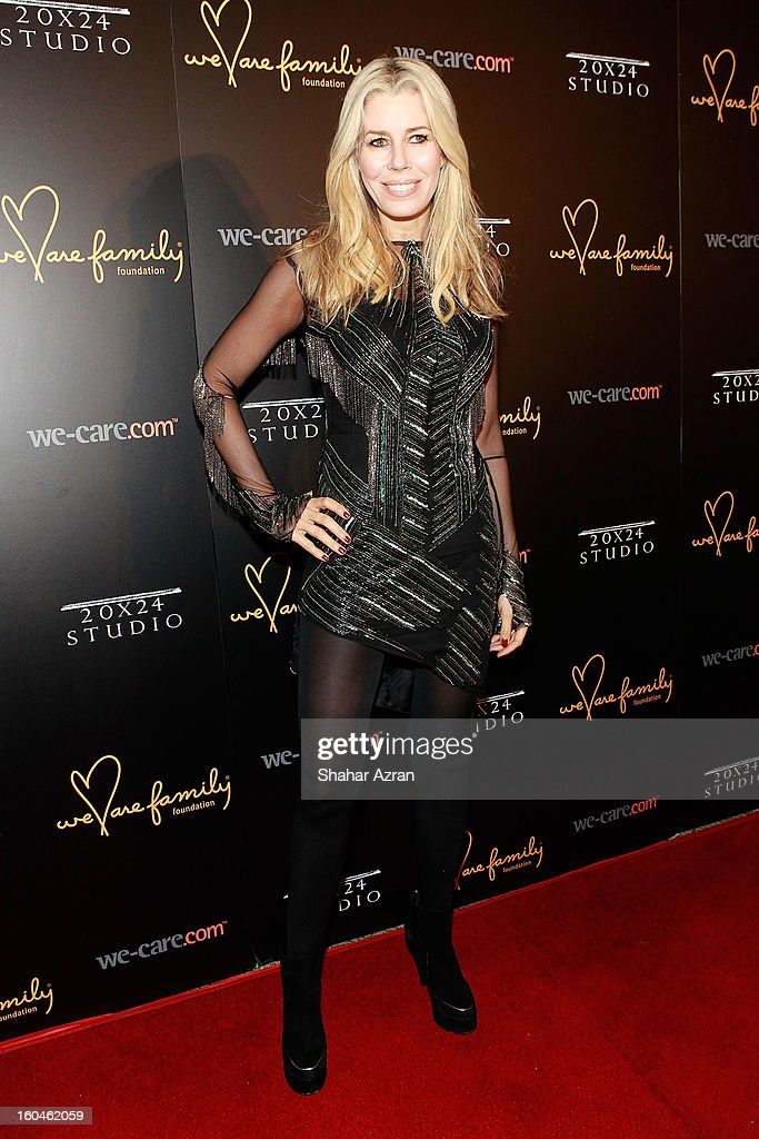 TV Personality Aviva Drescher attends 2013 We Are Family Foundation Gala at Hammerstein Ballroom on January 31, 2013 in New York City.