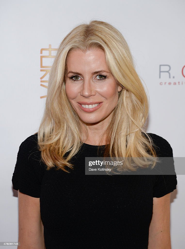 TV personality <a gi-track='captionPersonalityLinkClicked' href=/galleries/search?phrase=Aviva+Drescher&family=editorial&specificpeople=8624423 ng-click='$event.stopPropagation()'>Aviva Drescher</a> attends attends the 'The Real Housewives Of New York City' season six premiere party at Tokya on March 12, 2014 in New York City.