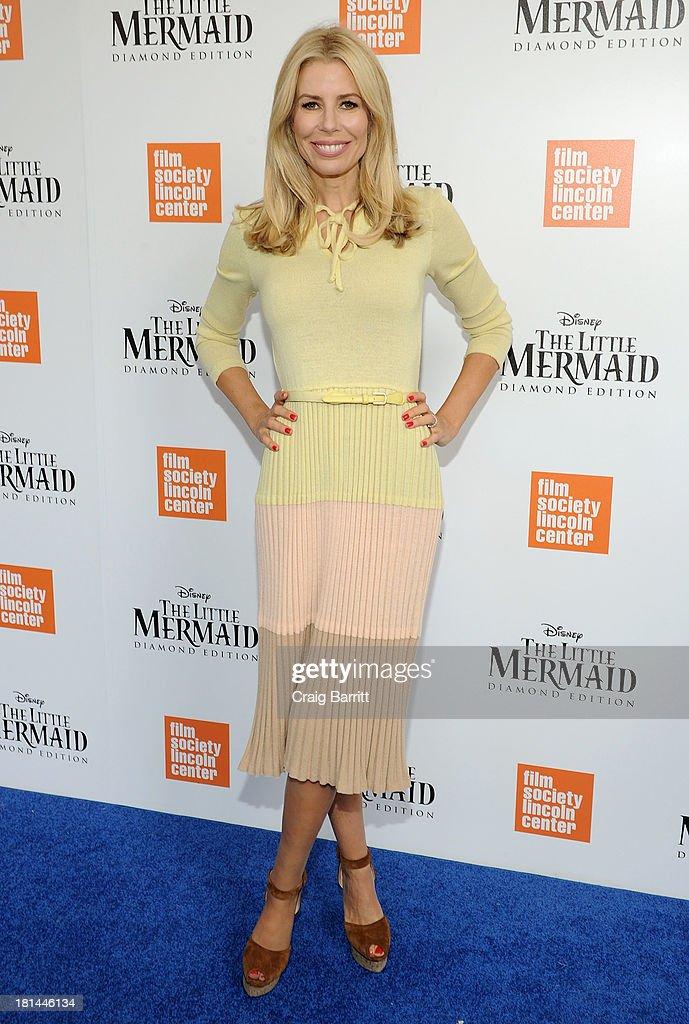 TV Personality Aviva Drescher attends Disney's The Little Mermaid special screening at Walter Reade Theater on September 21, 2013 in New York City.