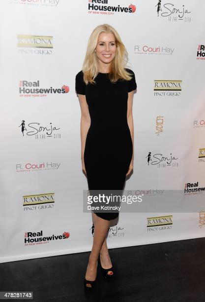 TV personality Aviva Drescher attends the 'The Real Housewives Of New York City' season six premiere party at Tokya on March 12 2014 in New York City