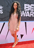 TV personality B Scott attends the 2015 BET Awards at the Microsoft Theater on June 28 2015 in Los Angeles California
