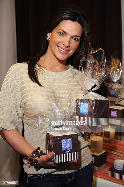 TV personality Barbara Bermudo attends the the 10th Annual Latin GRAMMY Awards Gift Lounge held at the Mandalay Bay Events Center on November 4 2009...