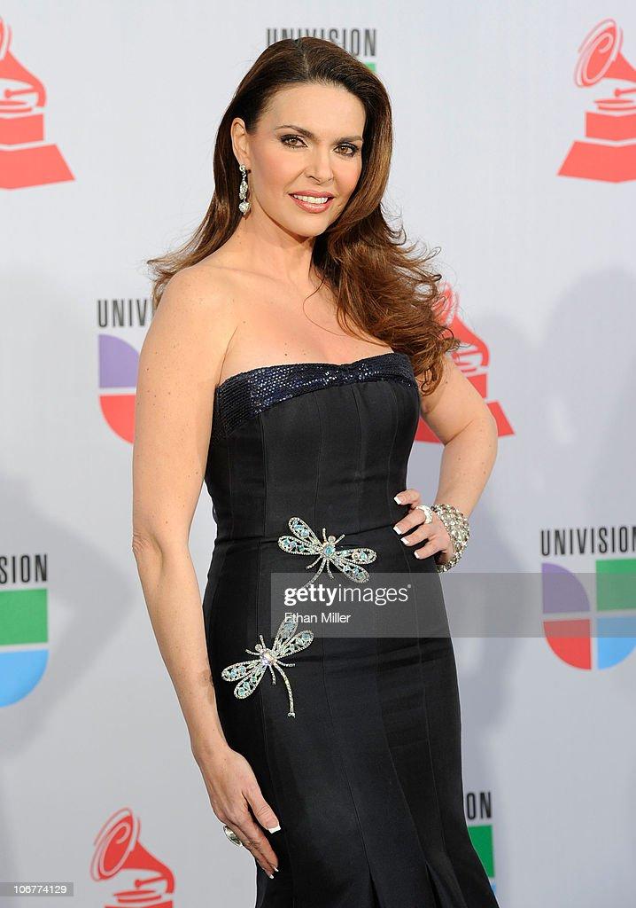 TV personality Barbara Palacios arrives at the 11th annual Latin GRAMMY Awards at the Mandalay Bay Resort & Casino on November 11, 2010 in Las Vegas, Nevada.