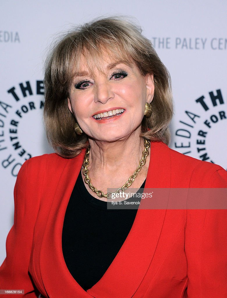 TV Personality Barbara Walters attends The Paley Center For Media Presents: Annual Benefit Dinner Honoring Tim Armstrong at Espace on May 15, 2013 in New York City.