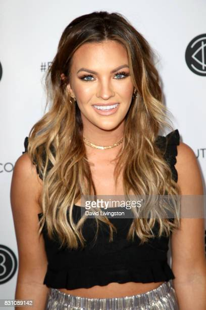 TV personality Becca Tilley attends Day 2 of the 5th Annual Beautycon Festival Los Angeles at the at Los Angeles Convention Center on August 13 2017...