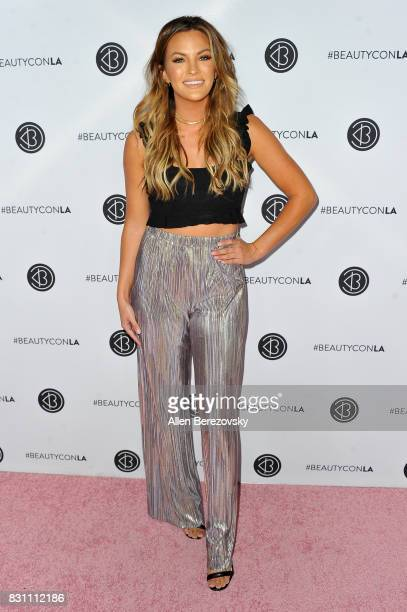 TV personality Becca Tilley attends the 5th Annual Beautycon Festival Los Angeles at Los Angeles Convention Center on August 13 2017 in Los Angeles...