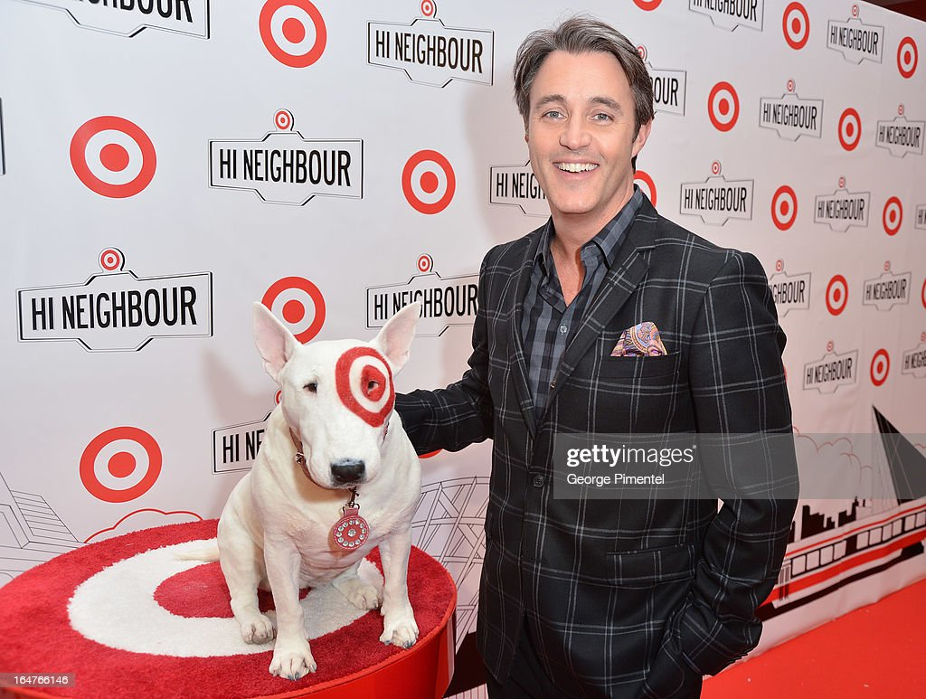 TV Personality Ben Mulroney attends the opening of Target At Shoppers World Danforth on March 27, 2013 in Toronto, Canada.