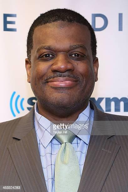 TV personality Bernard King visits the SiriusXM Studios on December 3 2013 in New York City