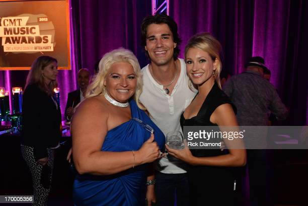 TV personality Beth Chapman and guests attend the 2013 CMT Music Awards After Party at Rocketown on June 5 2013 in Nashville Tennessee