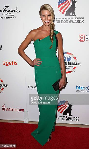 TV personality Beth Ostrosky Stern attends the 4th Annual American Humane Association Hero Dog Awards at The Beverly Hilton Hotel on September 27...