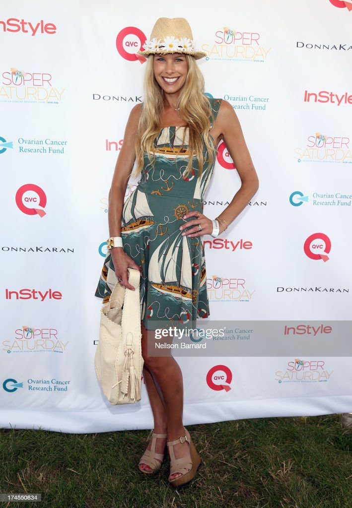TV Personality Beth Stern attends QVC Presents Super Saturday LIVE! at Nova's Ark Project on July 27, 2013 in Water Mill, New York.