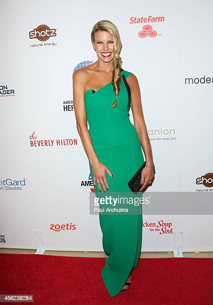 Personality Beth Stern attends the 4th annual American Humane Association Hero Dog Awards at The Beverly Hilton Hotel on September 27 2014 in Beverly...
