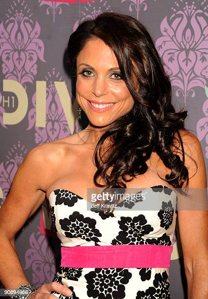 TV personality Bethenny Frankel attends 2009 VH1 Divas at Brooklyn Academy of Music on September 17 2009 in New York City