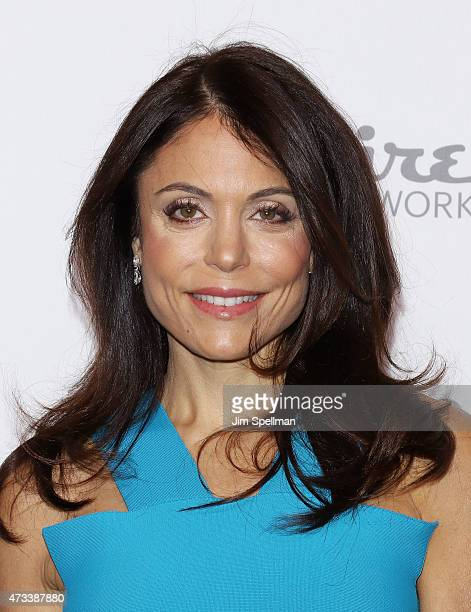 Personality Bethenny Frankel attends the 2015 NBCUniversal Cable Entertainment Upfront at The Jacob K Javits Convention Center on May 14 2015 in New...