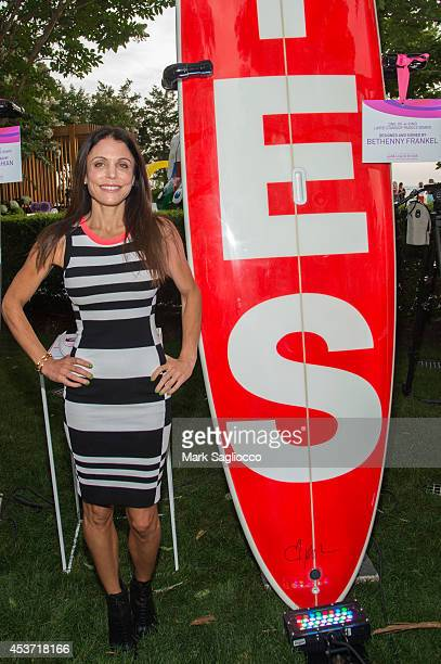 TV personality Bethenny Frankel attends the 3rd Annual 'The Hamptons Paddle Party for Pink' Benefit on August 16 2014 in Sag Harbor New York