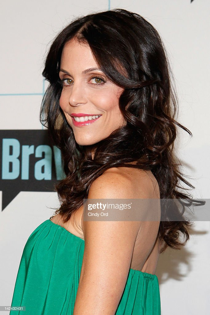 TV personality <a gi-track='captionPersonalityLinkClicked' href=/galleries/search?phrase=Bethenny+Frankel&family=editorial&specificpeople=873539 ng-click='$event.stopPropagation()'>Bethenny Frankel</a> attends the Bravo Upfront 2012 at Center 548 on April 4, 2012 in New York City.