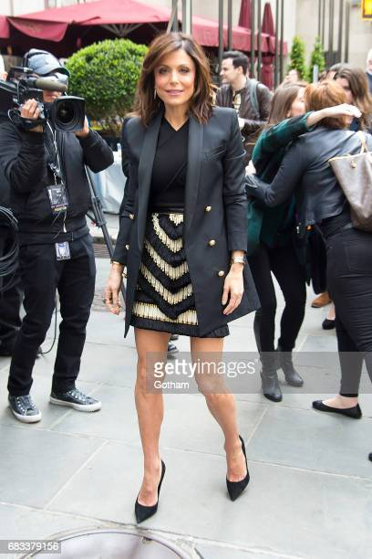 TV personality Bethenny Frankel is seen in Midtown on May 15 2017 in New York City