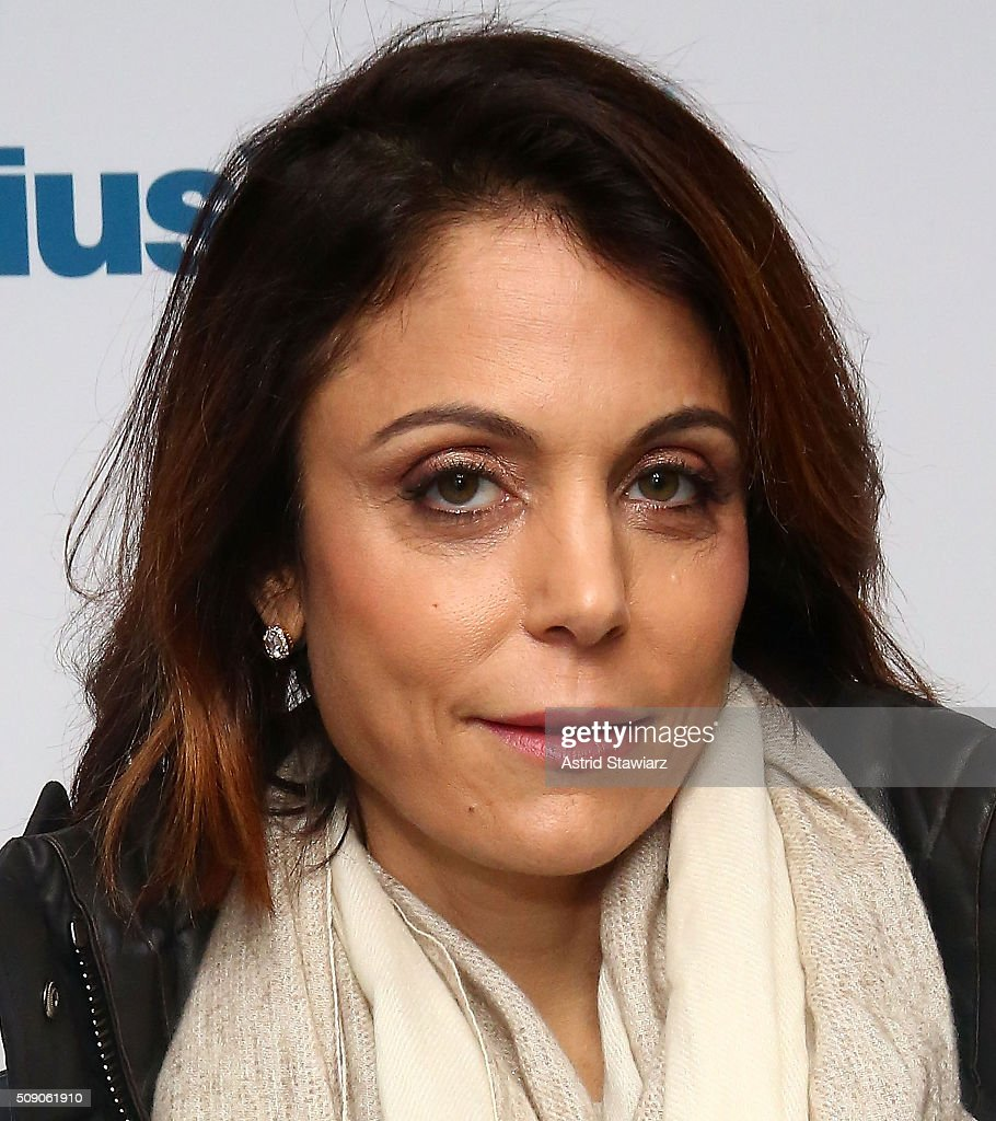 TV personality <a gi-track='captionPersonalityLinkClicked' href=/galleries/search?phrase=Bethenny+Frankel&family=editorial&specificpeople=873539 ng-click='$event.stopPropagation()'>Bethenny Frankel</a> visits Andy Cohen's exclusive SiriusXM channel Radio Andy at SiriusXM Studios on February 8, 2016 in New York City.