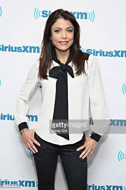 TV personality Bethenny Frankel visits the SiriusXM Studios on April 15 2015 in New York City
