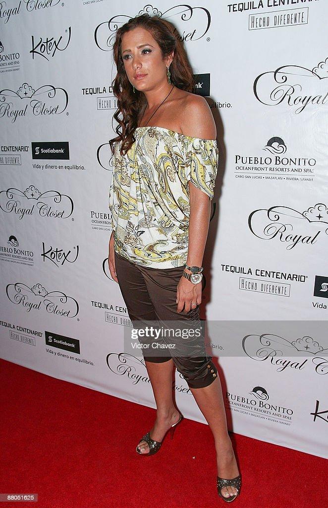 TV personality Betty Monroe attends Royal Closet Autumn/Winter 2009 at Antara Polanco on May 28, 2009 in Mexico City, Mexico.