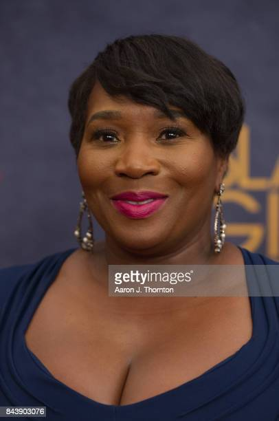 Personality Bevy Smith attends Black Girls Rock at New Jersey Performing Arts Center on August 5 2017 in Newark New Jersey