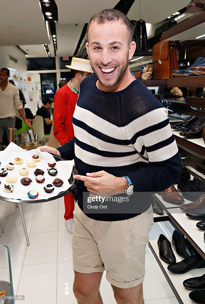 TV personality/ blogger Micah Jesse attends the Carlo Pazolini 'Guy's Night Out' Father's Day Event at Carlo Pazolini Boutique on June 13, 2013 in New York City.