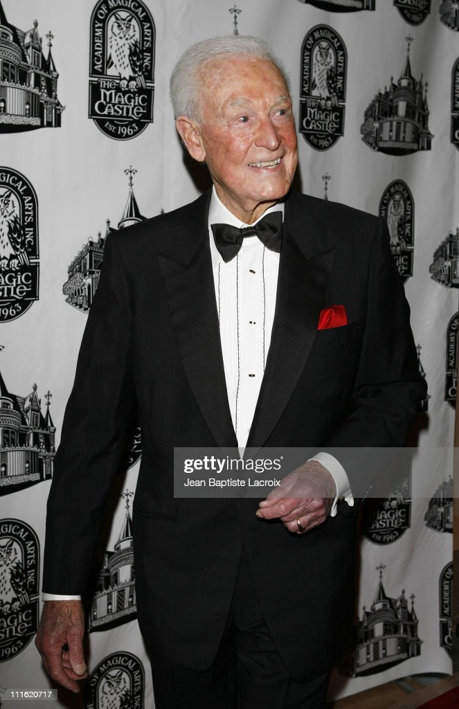 TV personality <a gi-track='captionPersonalityLinkClicked' href=/galleries/search?phrase=Bob+Barker&family=editorial&specificpeople=210681 ng-click='$event.stopPropagation()'>Bob Barker</a> attends the Academy of Magical Arts Awards at the Beverly Hilton Hotel on April 5, 2008 in Beverly Hills, California.