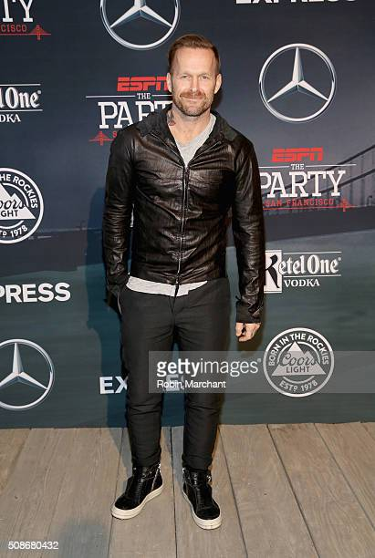 TV personality Bob Harper attends ESPN The Party on February 5 2016 in San Francisco California