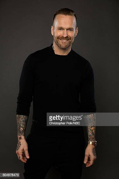 TV personality Bob Harper poses for a portrait during the NBCUniversal Press Day at The Langham Huntington Pasadena on January 13 2016 in Pasadena...