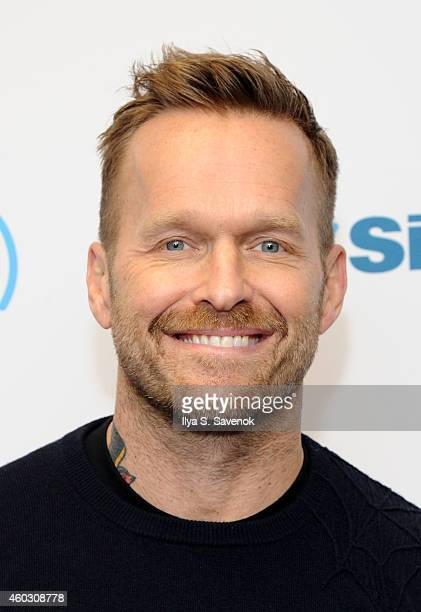 TV personality Bob Harper visits the SiriusXM Studios on December 11 2014 in New York City