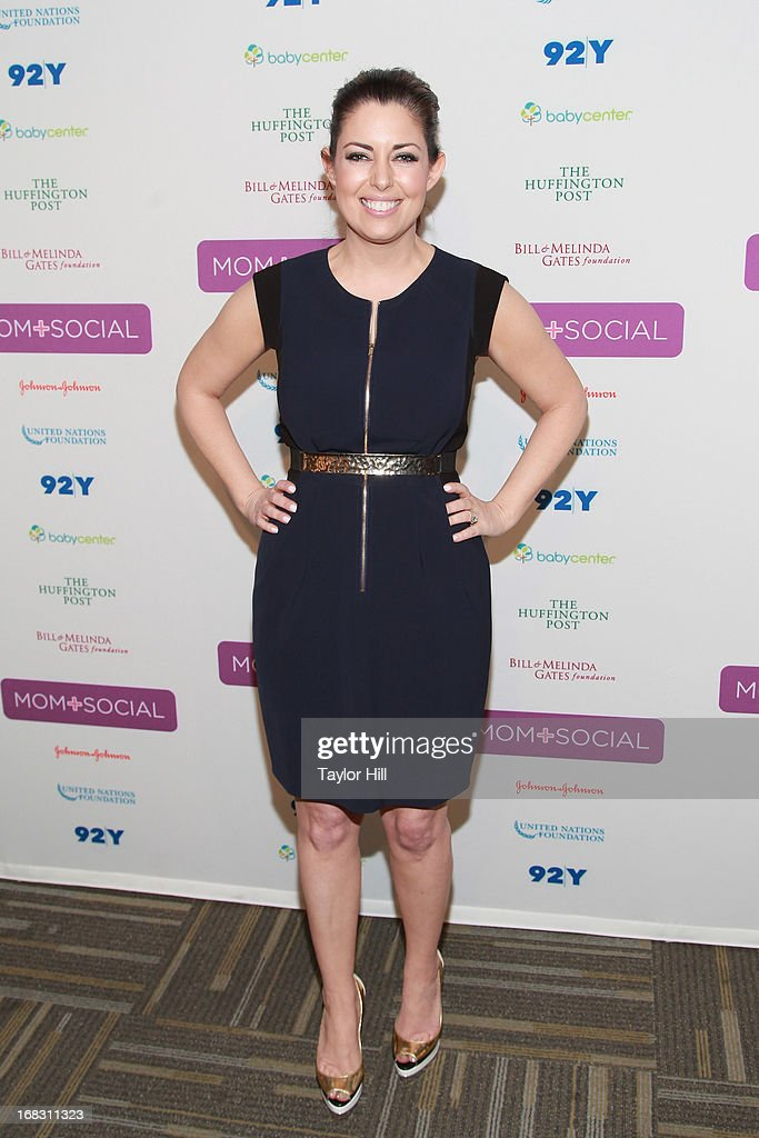 TV personality Bobbie Thomas attends the Mom + Social Event at the 92Y Tribeca on May 8, 2013 in New York City.