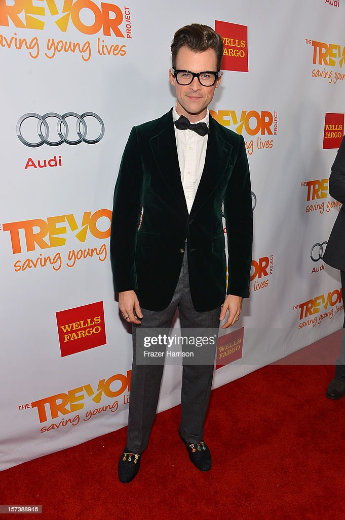 TV personality Brad Goreski arrives at 'Trevor Live' honoring Katy Perry and Audi of America for The Trevor Project held at The Hollywood Palladium on December 2, 2012 in Los Angeles, California.