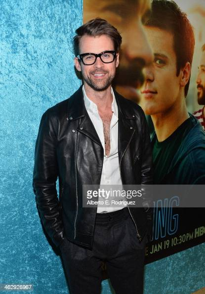 TV personality Brad Goreski arrives to the premiere of HBO's 'Looking' at Paramount Theater on the Paramount Studios lot on January 15 2014 in...