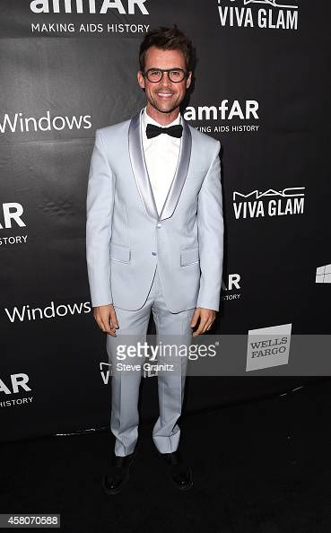 TV personality Brad Goreski attends amfAR LA Inspiration Gala honoring Tom Ford at Milk Studios on October 29 2014 in Hollywood California