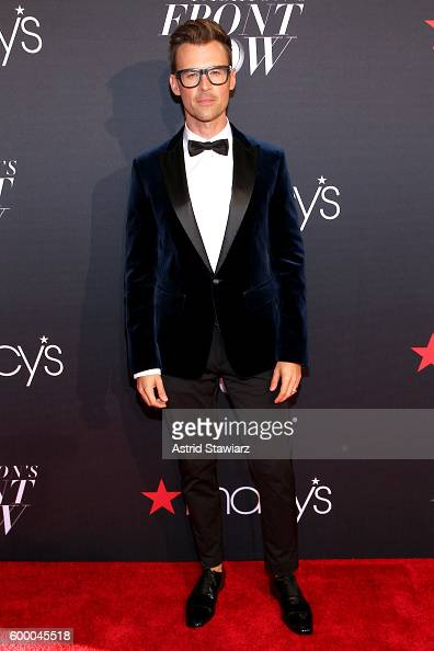 TV personality Brad Goreski attends Macy's Presents Fashion's Front Row on September 7 2016 in New York City